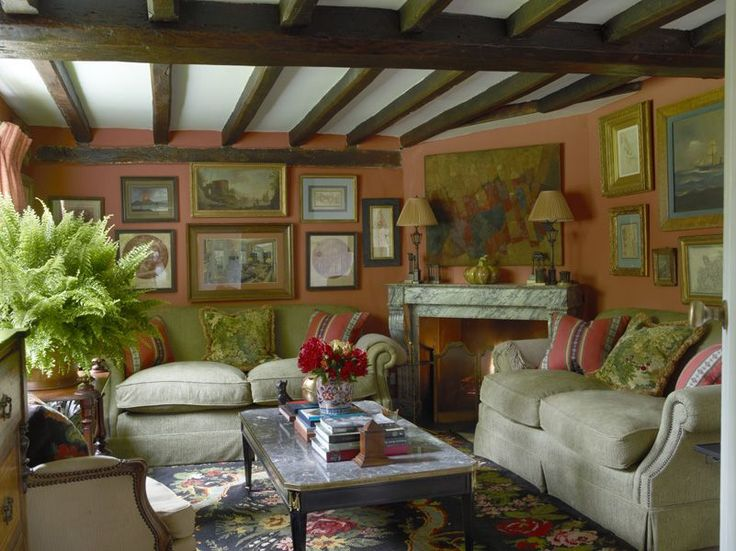 770 Best Images About Country Cottage Living Room On Pinterest