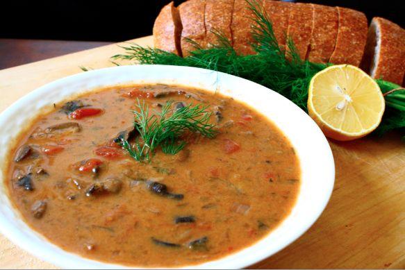 hungarian mushroom soup hungarian cuisine hungarian food childhood ...
