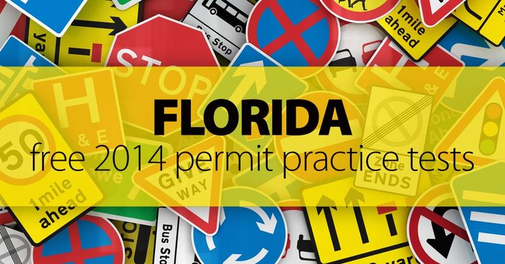 FREE FL Permit Test Resources: Wake Up The Driver Inside You!