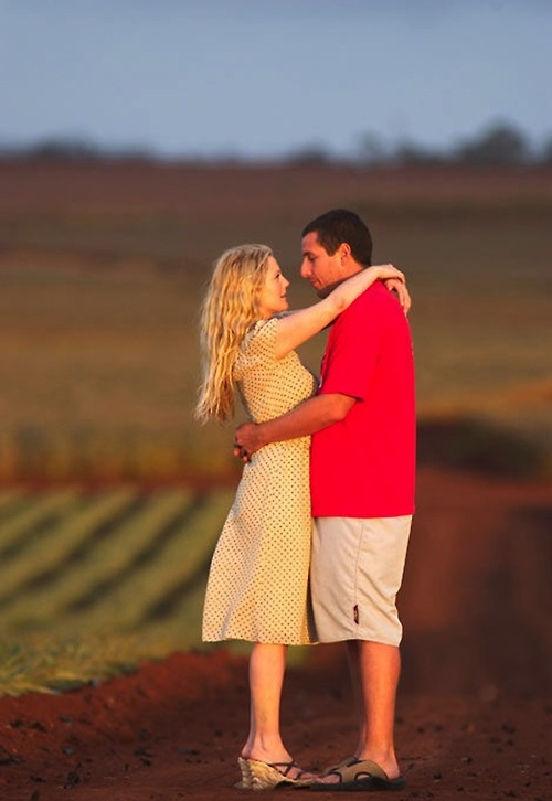 "50 First Dates. Henry and Lucy. ""Nothing beats a first kiss."""