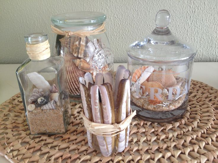Schelpen decoratie / Decoration with shells