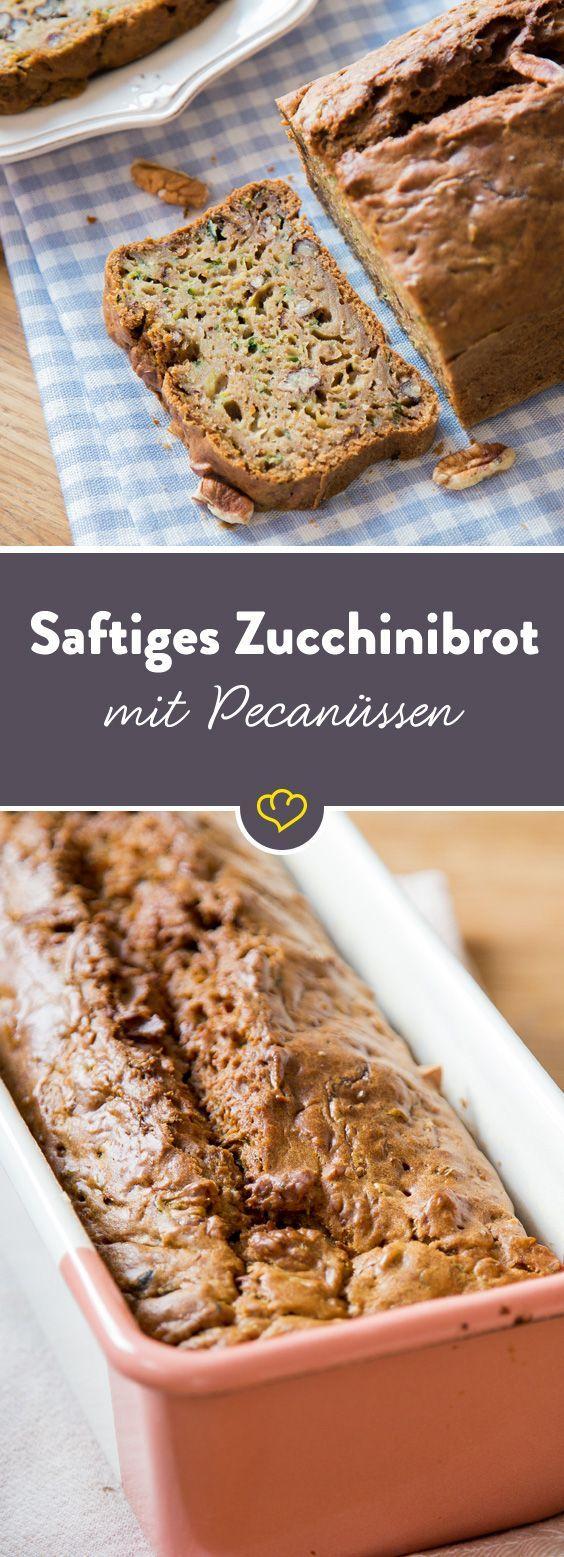 Frisch aus dem Ofen: Saftiges Zucchinibrot mit Pekannüssen