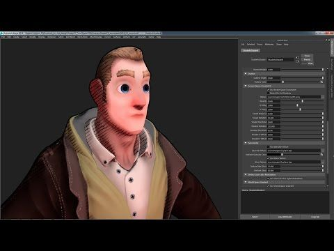 KoddeToonShader, a real-time toon shader for Autodesk Maya - polycount