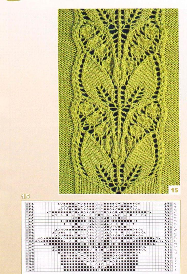 SOLO PUNTOS: tricot calado
