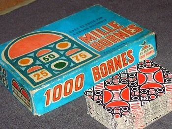 1000 images about vintage mille bornes on pinterest for Dujardin 1000 bornes