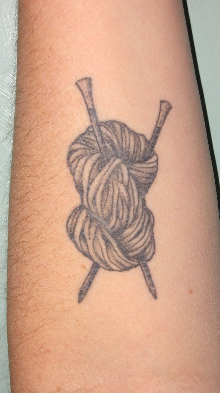 Knitting Needle Tattoo : Best images about knitting tattoo on pinterest crafts