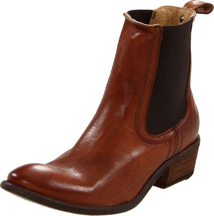 frye women 39 s carson chelsea ankle boot cognac 7 m us. Black Bedroom Furniture Sets. Home Design Ideas