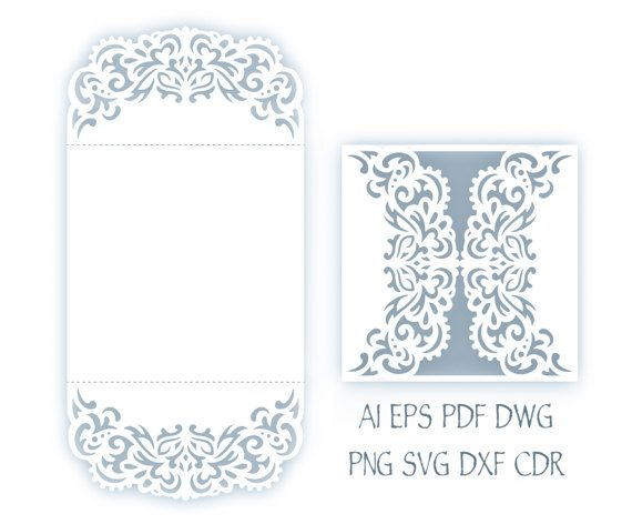 svg wedding invitation 5x7 u0026 39  u0026 39  gate fold card template  u043e u0442