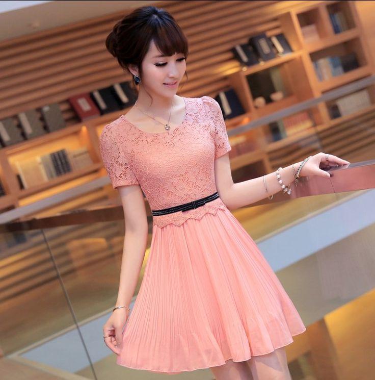 Resultado de imagen para vestidos coreanos juveniles elegantes 2015