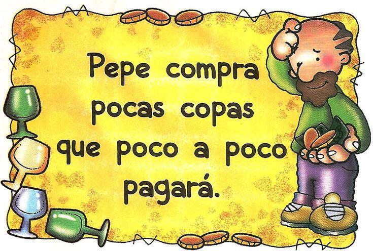 Pepe compra pocas copas...