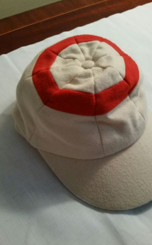 Vintage Original Wool Cricket Rugby School Hat Us Size 7 N England Never Worn