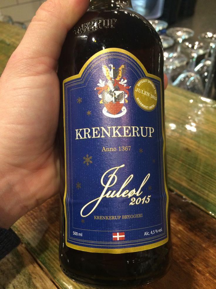 Krenkerup juleøl Krenkerup bryggeriet Danmark