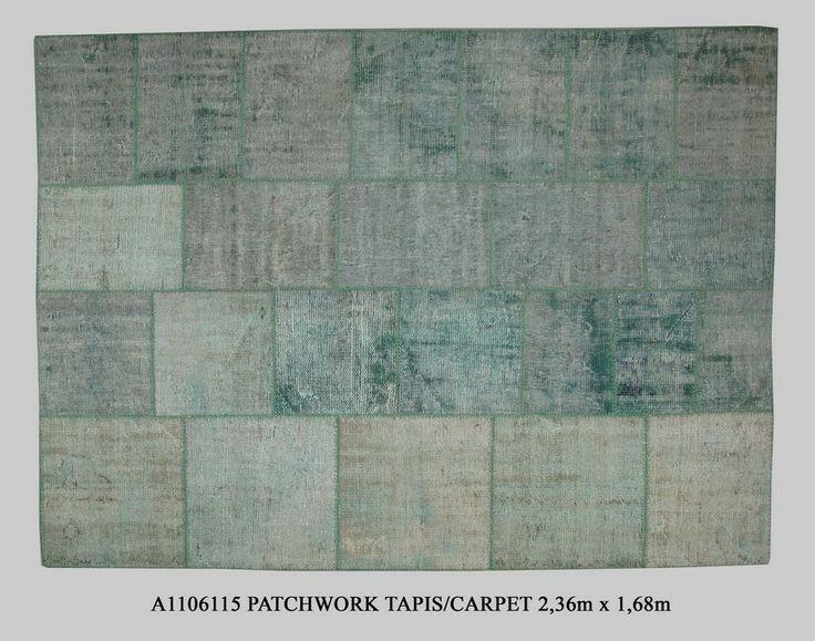 patchwork tapis monochrome par Kilims ADA