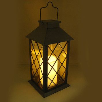 You'll love the Solar Powered Lantern at Wayfair - Great Deals on all Lighting  products with Free Shipping on most stuff, even the big stuff.