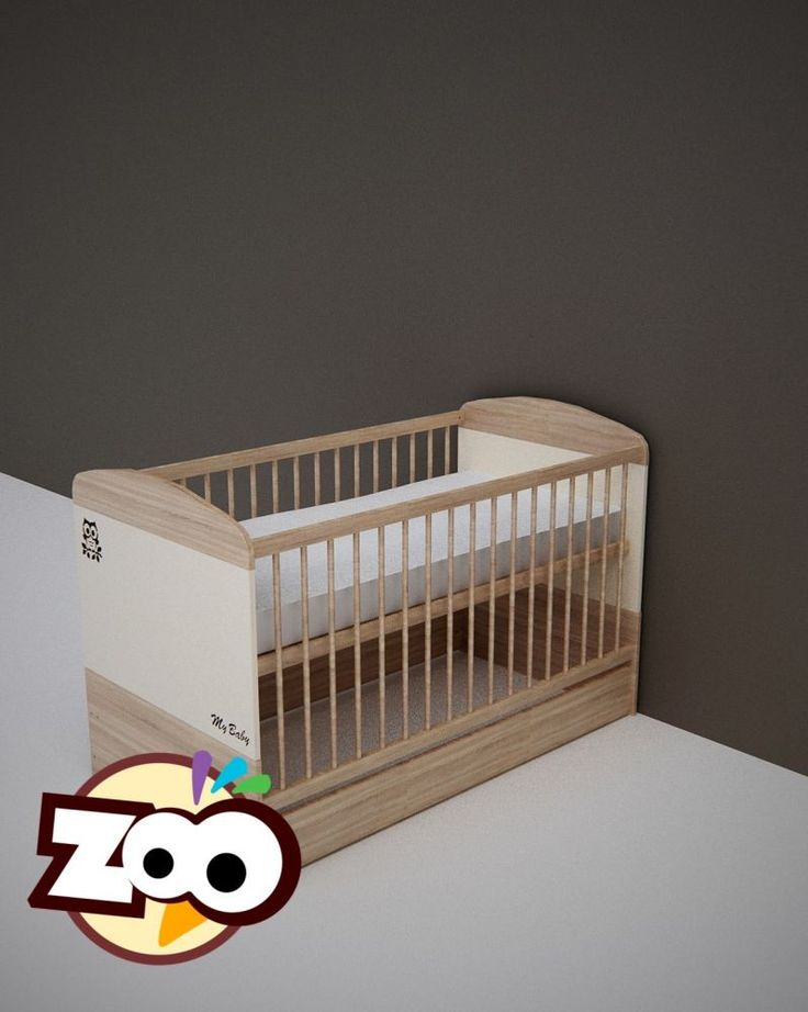 Todi Zoo 70*140-es kiságy