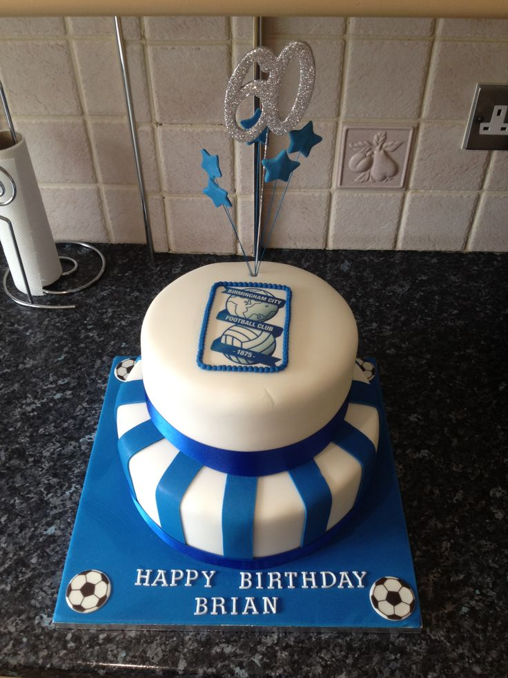 Birmingham city cake Football themed cakes, City cake