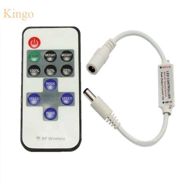 Dobrej Jakości Mini Dc 12 V Led Controller Dimmer 6a