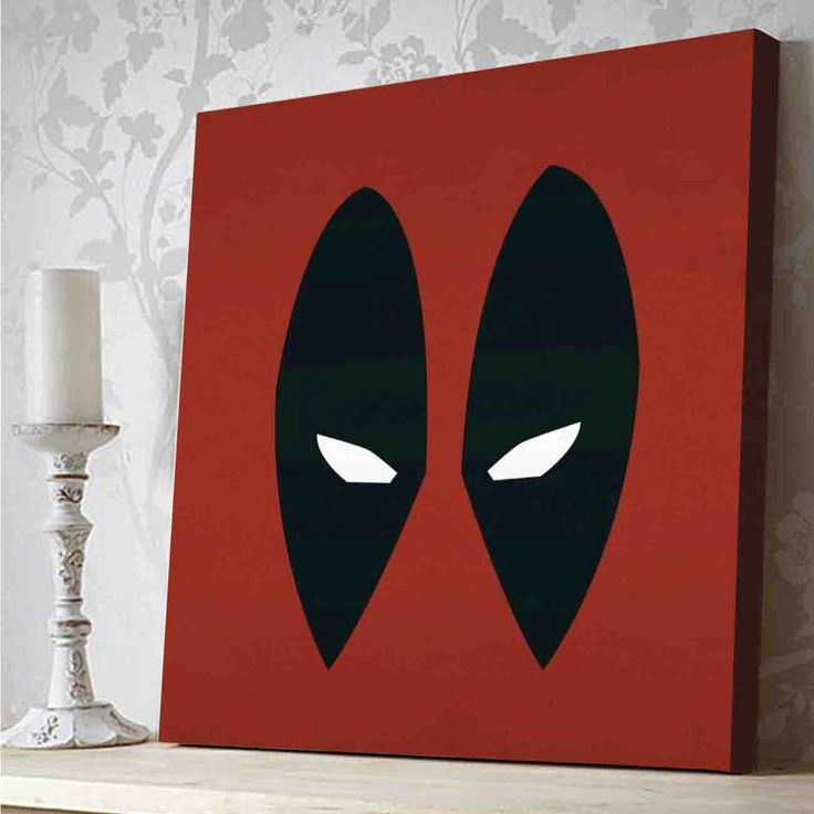 Deadpool Canvas Print by PeriodDesign on Etsy