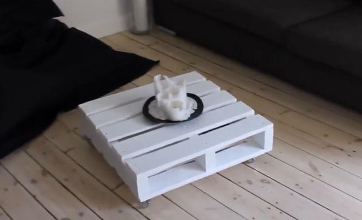 Sie fand eine alte Palette im Müll... und verwandelte sie in ein PRÄCHTIGES Möbelstück! So einfach! - DIY Bastelideen