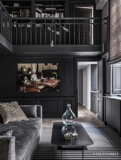 1000 ideas about french apartment on pinterest paris apartment interiors chevron floor and. Black Bedroom Furniture Sets. Home Design Ideas