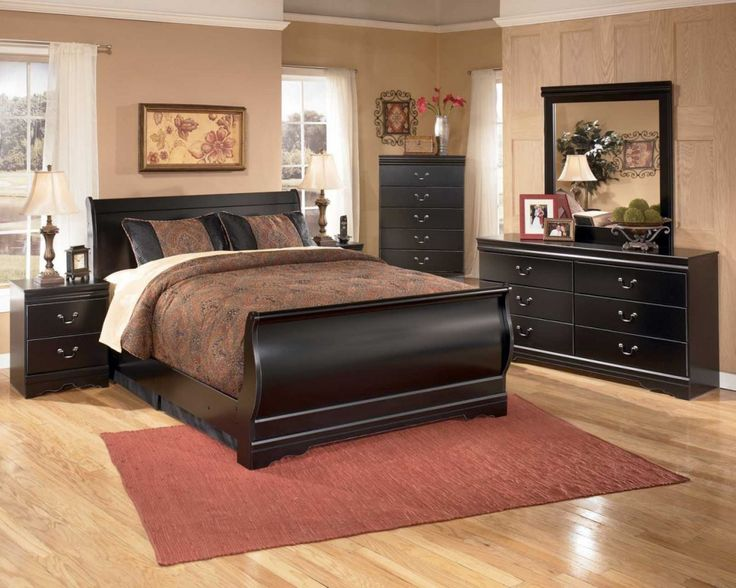 Huey Vineyard Sleigh Bedroom Set - Decorating Ideas for Bedrooms Check more at http://grobyk.com/huey-vineyard-sleigh-bedroom-set/