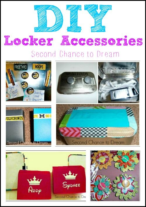 DIY+Locker+Accessories DIY Locker Accessories