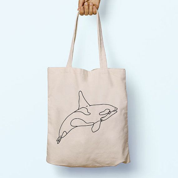 Orca Killer Whale Illustration Drawing by PaperTigersApparel