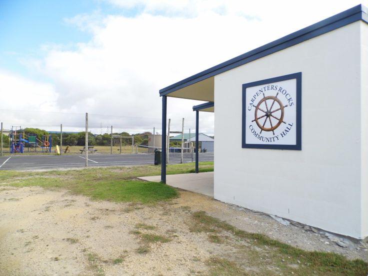Carpenter Rocks recreation area. Playground, tennis court and bbq area