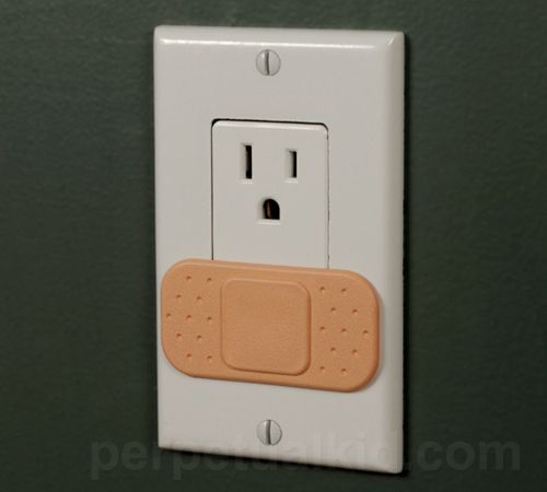 Ouchlet Band-Aid Outlet Cover