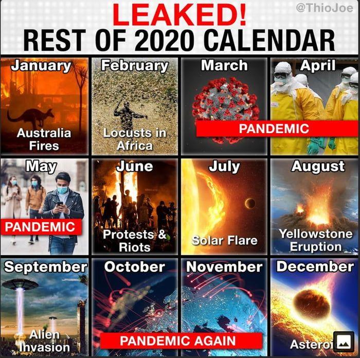 2020 Calendar Not Mine Memes Funny Funny Memes