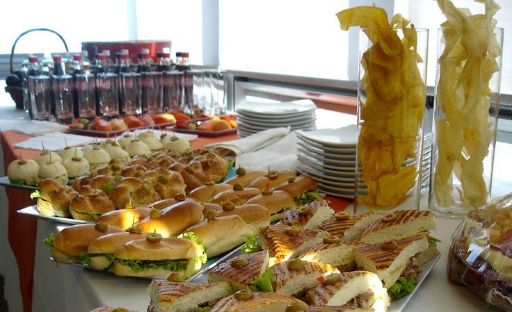 Refrigerios - Barra de Sandwichs