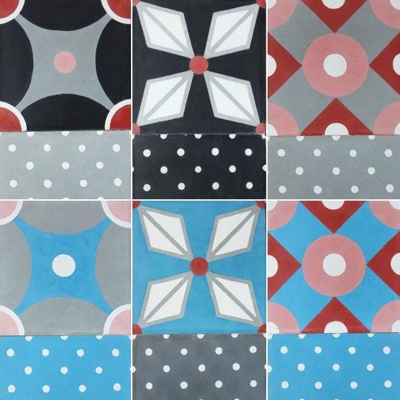 26 best images about carreau ciment on pinterest - Carreaux de ciment petit pan ...