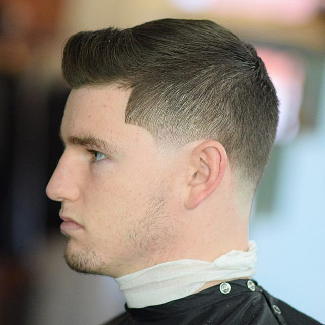 Temp Fade haircuts hairstyle for men
