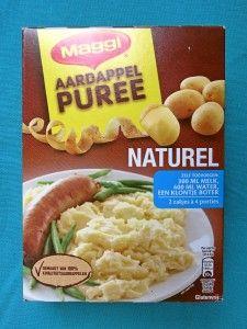 Maggi aardappelpuree, vegan