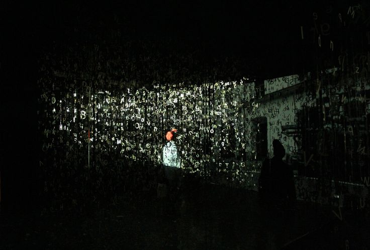 TYPO NOISE installation by Aleksandra Toborowicz : Photo