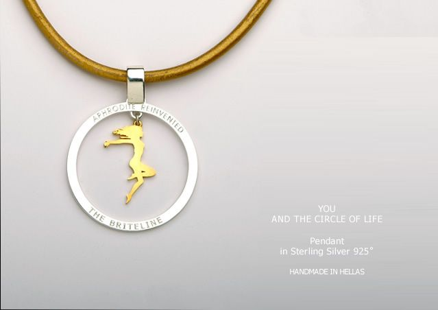 """Handmade Pendant ' You and the Circle of Life"""""""