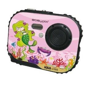 Easypix - WooBox - Appareil photo numérique pour enfant - 5 Mpix - Étanche 3m - Rose