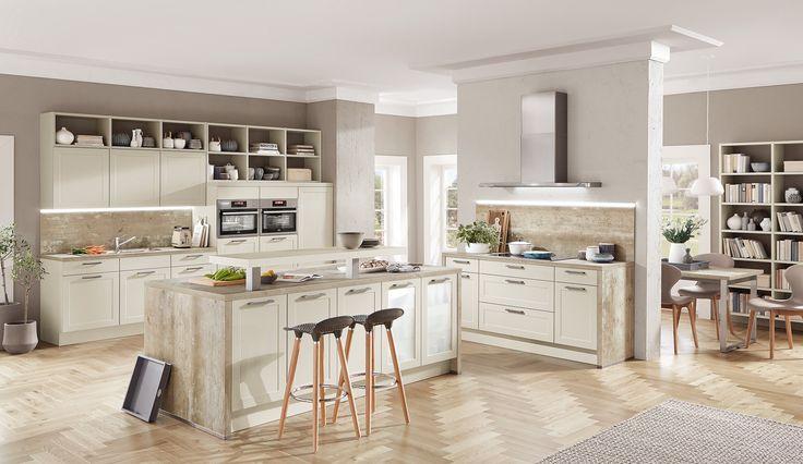 7 best Classic Kitchens images on Pinterest Classic white, Ivory - einbauküchen für kleine küchen