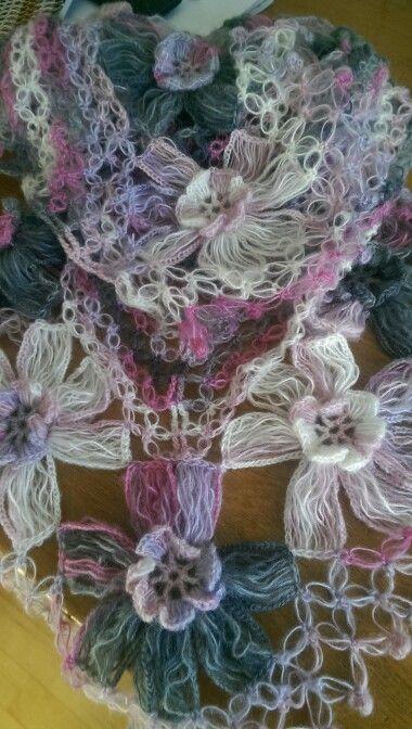 Flower Power sjaal