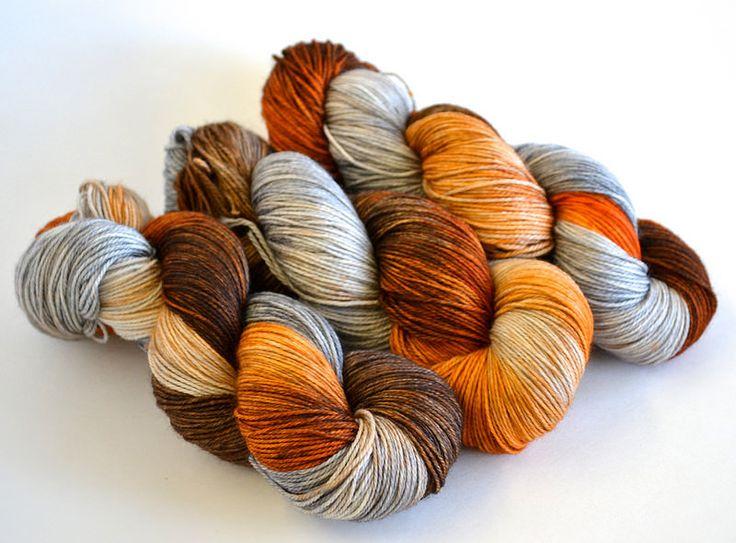 Copper & Zinc Merino Nylon Sock Yarn