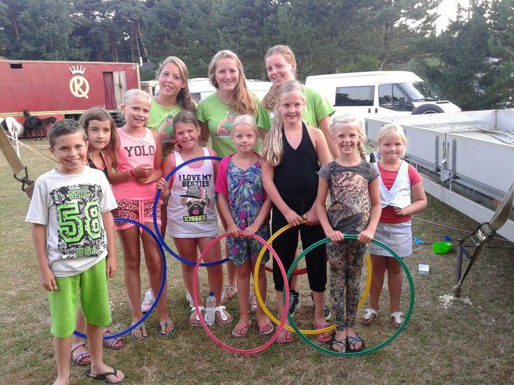 Het recreatieteam verzorgt in veel schoolvakanties allerlei leuke activiteiten