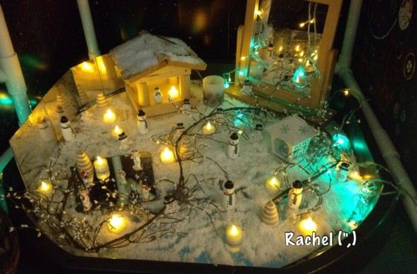 Snowy Small World Play (from Stimulating Learning with Rachel)