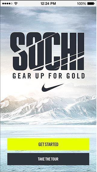 Sochi - Gear Up For Gold by Erik Herrström, via Behance