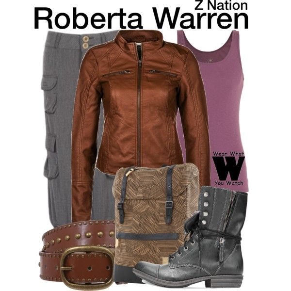 Inspired by Kellita Smith as Roberta Warren on Z Nation