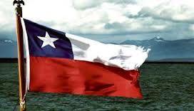 la bandera de chile o bandera actual