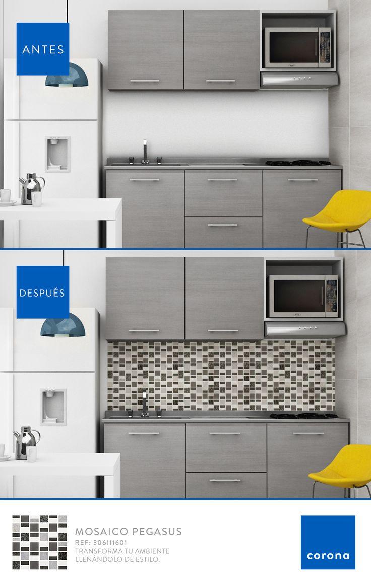 Un mosaico es la opción perfecta para decorar de manera fácil.