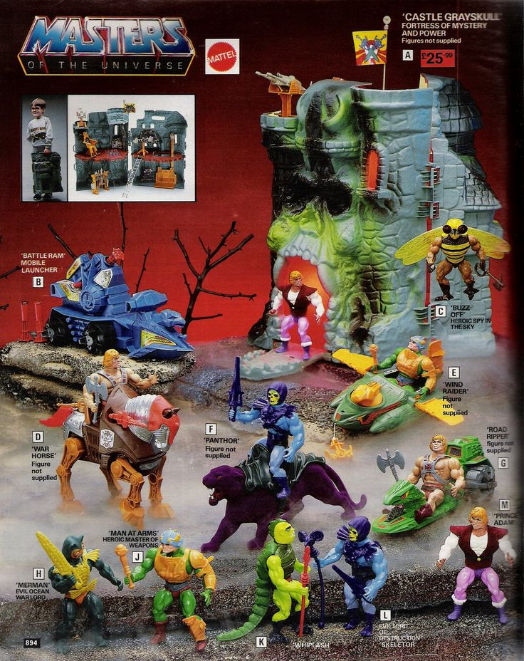 I think i had all of these.... well maybe half. Never had the bee guy, but who would want him anyway?