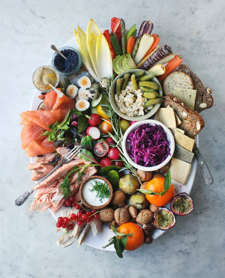 Smörgåsbord Platter: perfect Scandi-inspired sharing plate for Christmas (Christmas Recipes Appetizers)