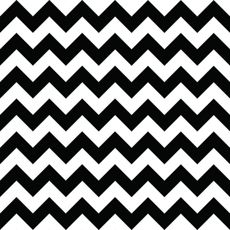 Quadro - Chevron P&B - Decohouse