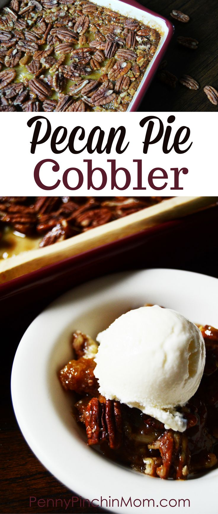 Pecan Pie Cobbler | Pecan Pie Recipe | Easy Pecan Pie | Thanksgiving Dessert | Easy Cobbler Recipe | Pecan Dessert |  #pecans  #desserts  #Thanksgiving
